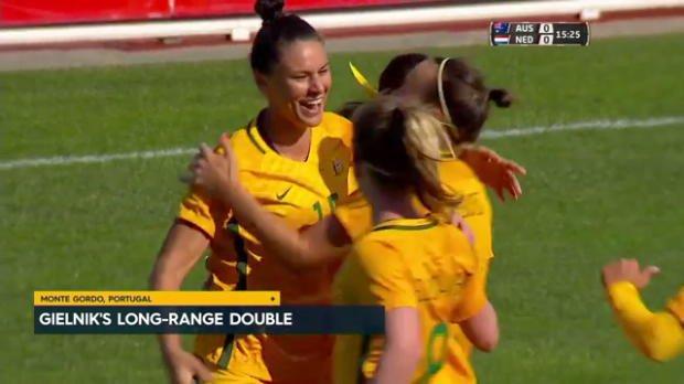 Gielnik guides Westfield Matildas to win