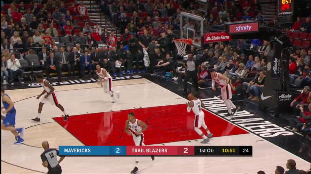 WSC: Maxi Kleber (10 points) Highlights vs. Portland Trail Blazers