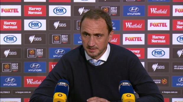 Melbourne City EF press conference