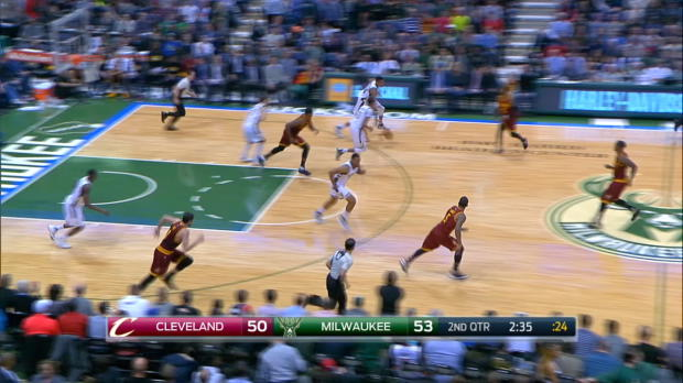 Steal of the Night - Giannis Antetokounmpo