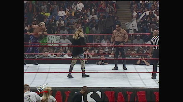 Edge & Christian vs. Faarooq & Bradshaw - Raw, July 26, 1999