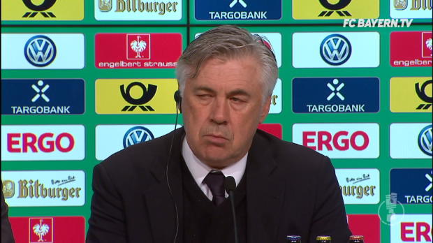 "Ancelotti nach Pokal-Aus: ""Es tut uns Leid!"""