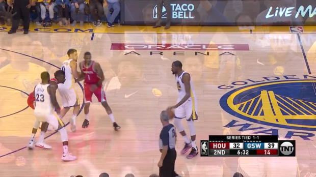 WSC: Kevin Durant (25 points) Highlights vs. Houston Rockets