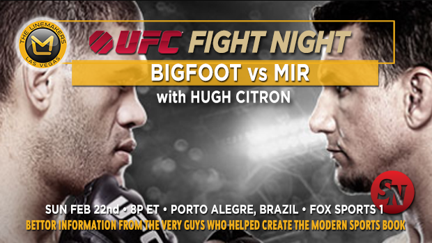 UFC Fight Night Bigfoot Vs. Mir