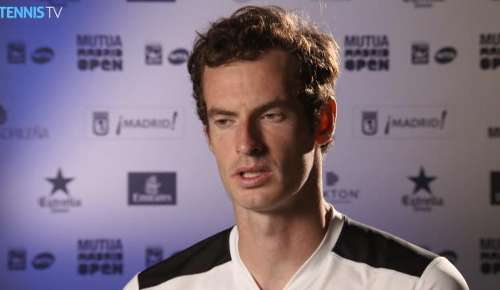 Murray Interview: ATP Madrid 3R