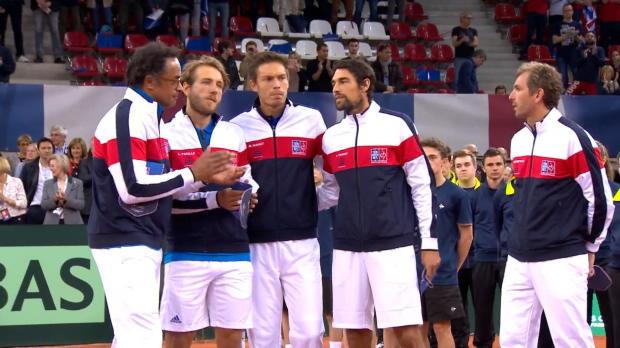 : NEWS - Coupe Davis ? La France mène 2-0 contre la Grande-Bretagne
