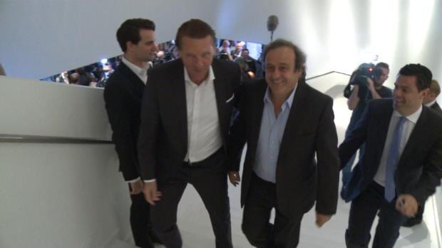 UEFA: Platini tritt als Präsident zurück