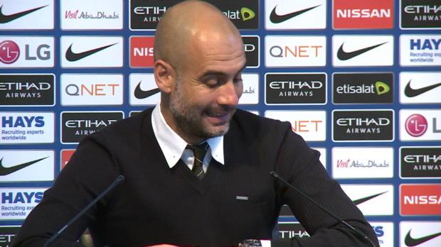 """Guardiola: """"Der Rotwein war so gut heute"""""""
