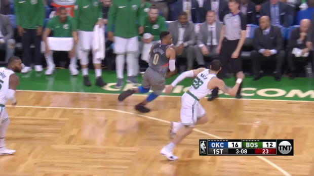 WSC: Russell Westbrook 27 points vs the Celtics