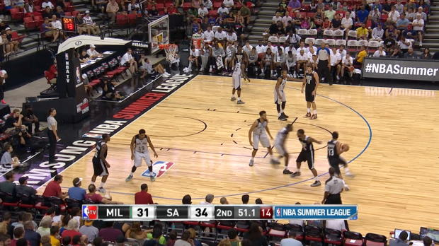 Best Crossovers of the 2015 Summer League