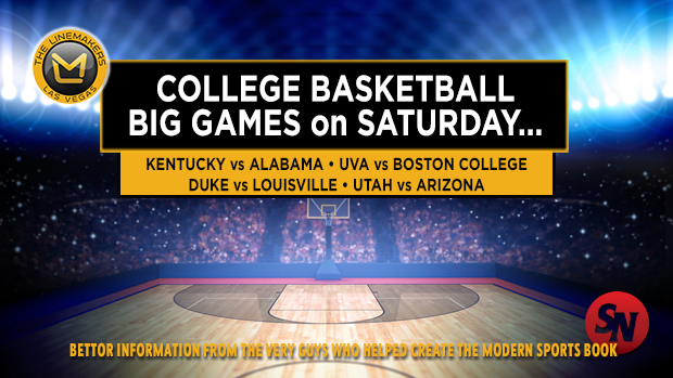 College Basketball: Big Games on Saturday