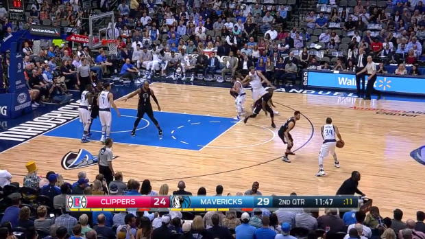 WSC: Highlights: Dirk Nowitzki (14 points) vs. the Clippers