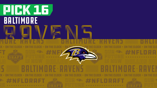 Ravens pick No. 16 | 2018 NFL Mock Draft Live