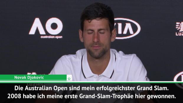 AO: Djokovic: So wichtig war mein erster Triumph
