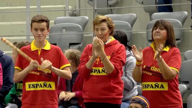 Davis Cup: Kroatien - Spanien, Tag 3