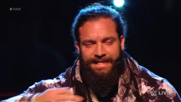 Apollo Crews silences Elias: Raw, Oct. 15, 2018