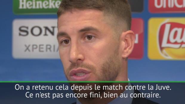 Demies - Ramos - 'On a retenu les leçons du match contre la Juve'
