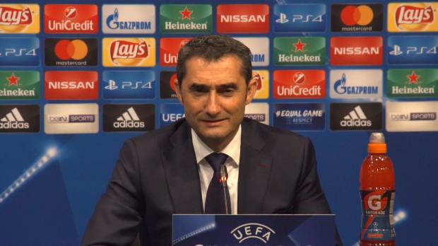 """Valverde scherzt: """"Hoffe auf 200 Messi-Tore"""""""
