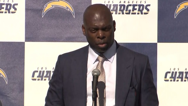 Anthony Lynn: 'I am so proud to be coach of the L.A. Chargers'