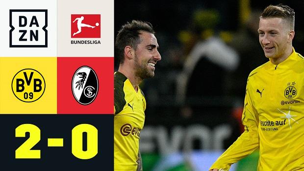Bundesliga: Borussia Dortmund - SC Freiburg | DAZN Highlights