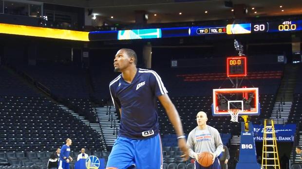 Basket : NBA - NBA - Durant absent 2 mois des parquets