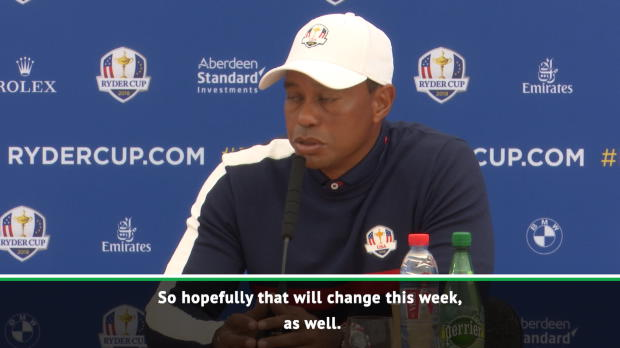 Resurgent Woods desperate to improve Ryder Cup record