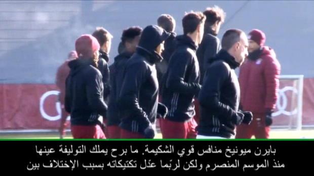 كرة قدم: دوري أيطال أوروبا: سيميوني حذر قبيل المواجهة المرتقبة أمام بايرن