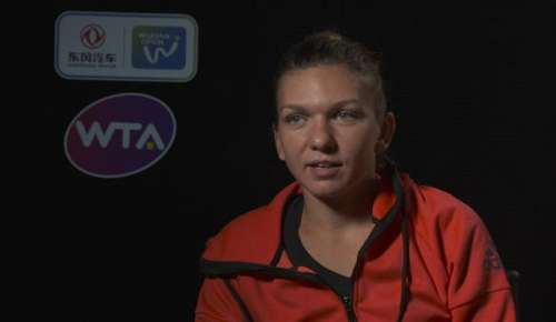 Halep Interview: WTA Wuhan QF