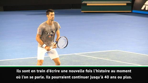 """Tennis : ATP - McEnroe - """"Federer, Nadal et Djokovic écrivent de nouveau l'histoire du tennis"""""""