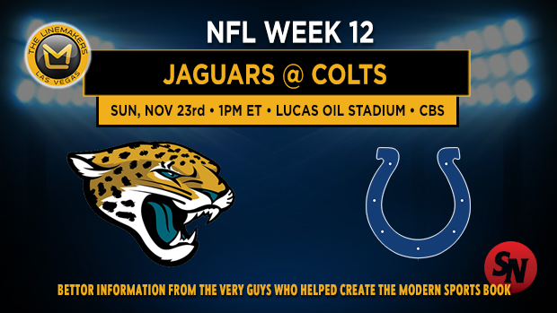 Jacksonville Jaguars @ Indianapolis Colts