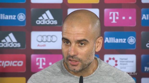 Treffen mit Ancelotti? Guardiola weicht aus