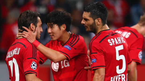 "Foot : LDC - Groupe C : Bayer Leverkusen, Schmidt : ""Un bon signe"""
