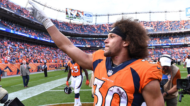 Highlights from Phillip Lindsay's first two weeks