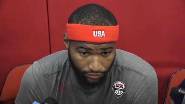 """Basket : NBA - Golden State - Cousins - """"Je respecte la décision de Durant"""""""