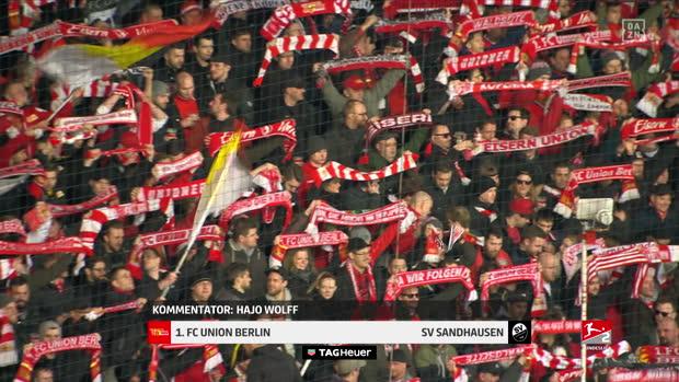 2. Bundesliga: 1. FC Union Berlin - SV Sandhausen | DAZN Highlights