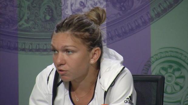 """Wimbledon: Halep spielt wieder """"gutes Tennis"""""""