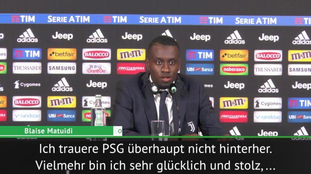 "Juves Matuidi: ""Trauere PSG nicht hinterher"""
