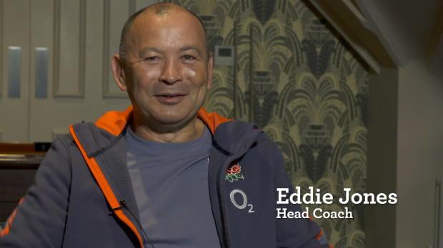 Eddie Jones on his team to face Wales