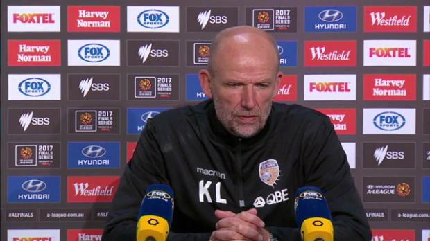 Perth Glory EF press conference