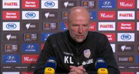 Perth Glory boss Kenny Lowe addresses the media following his side's impressive 2-0 win over Melbourne City in the Elimination Final.