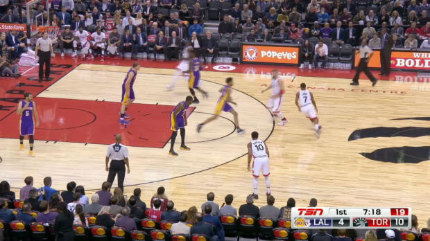 GAME RECAP: Raptors 113, Lakers 80