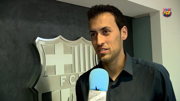 """Busquets: """"Will Karriere in Barcelona beenden"""""""