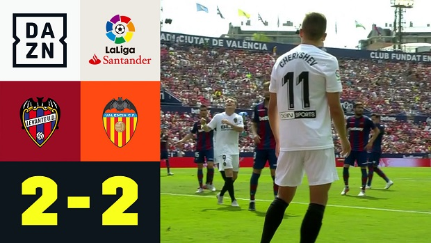 LaLiga: Levante - Valencia | DAZN Highlights