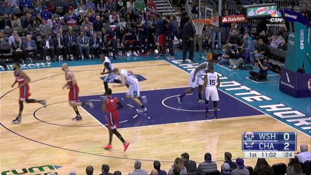 WSC: Highlights: John Wall (24 points) vs. the Hornets, 1/23/2017