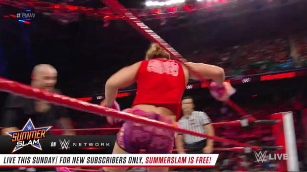 Tyler Breeze vs. Constable Baron Corbin: Raw, Aug. 13, 2018