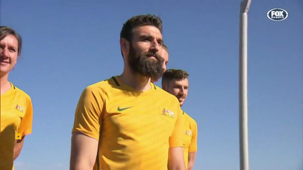 New-look Caltex Socceroos in Adelaide