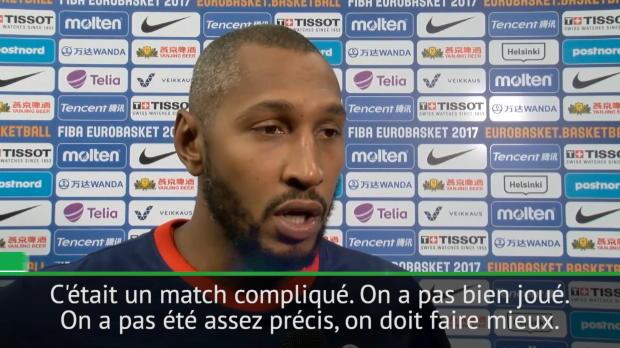 """Basket : Euro 2017 - Diaw - """"Nous devons faire mieux"""""""