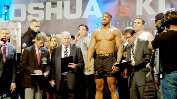 Boxen: Tyson schwärmt von Joshua vs. Klitschko
