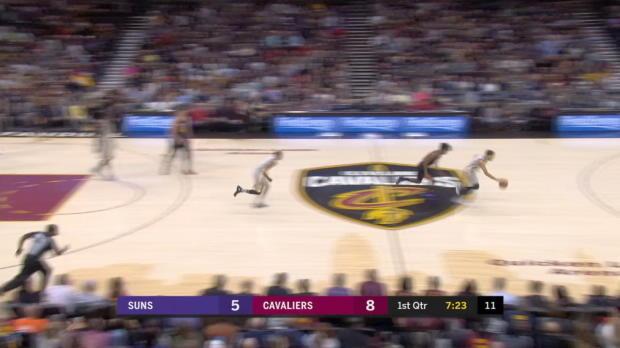 GAME RECAP: Cavaliers 120, Suns 95