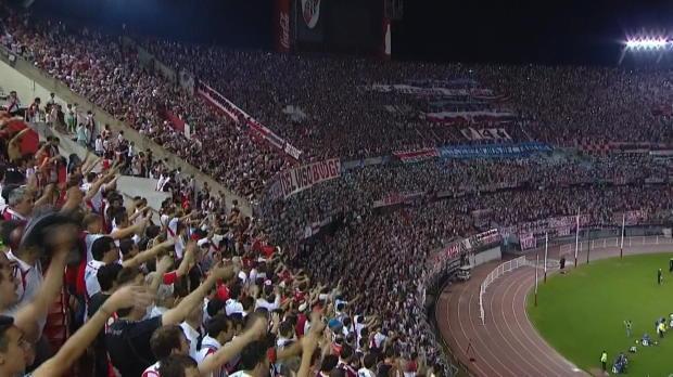 Après avoir gagné 1-3 lors du match aller, River Plate n'a eu aucun mal à se qualifier pour les quarts de finale contre Libertard, avec une victoire 2-0 au stade Monumental.